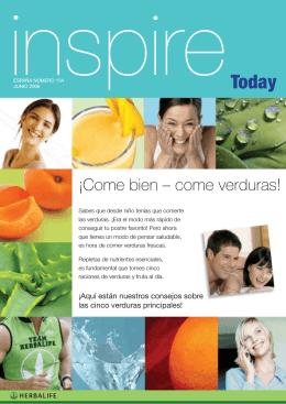 ¡Come bien – come verduras! - distribuidor de productos Herbalife