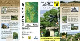 Ruta del Barranco de Sta Mª y la Piedra Yunque