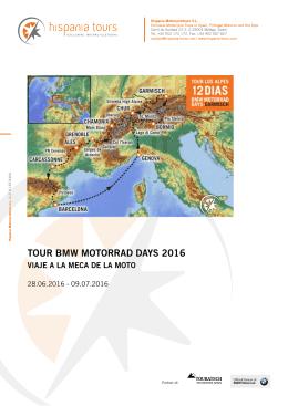 Hispania Tours 2016 Garmisch