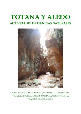 Actividades de Biología para Totana