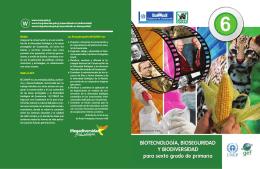 Biotecnología, bioseguridad y biodiversidad para