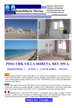 FOLLETO PISO 3012 - Inmobiliaria Mavina