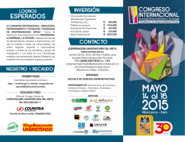 Descargar folleto - Eventos de mi ciudad