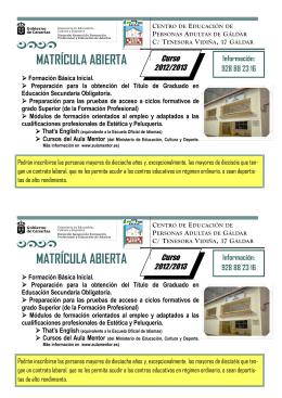 folleto - Gobierno de Canarias
