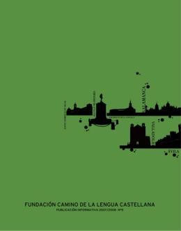 descargarlas en PDF - Fundación Camino de la Lengua Castellana