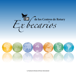 Ex becarios - Rotary International
