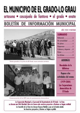 Navidad 2004 - Ayuntamiento de El Grado