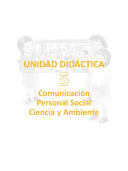 UNIDAD DIDÁCTICA - Rutas del Aprendizaje versión 2015