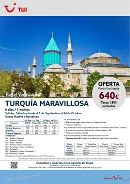 Turquía Maravillosa