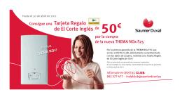 Tarjeta Regalo de El Corte Inglés orte Inglés de El Co