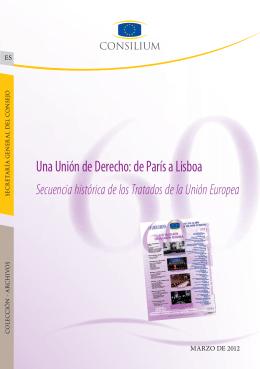 Una Unión de Derecho: de París a Lisboa