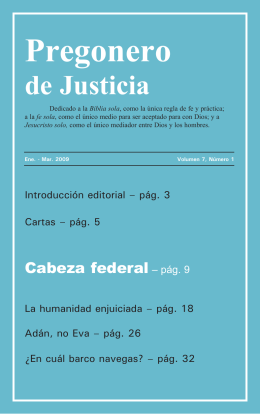Vol. 7 #1 Cabeza federal - Life Research International