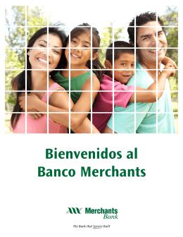 Bienvenidos al Banco Merchants