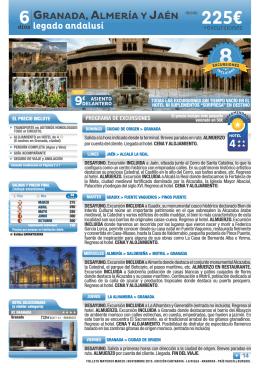 14. Granada, Almería y Jaén