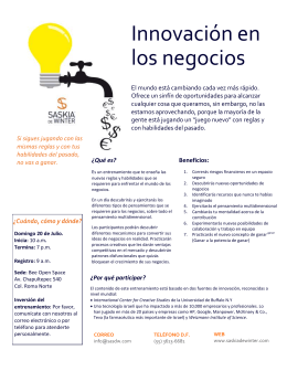 Folleto Innovacion DF_Julio_2014