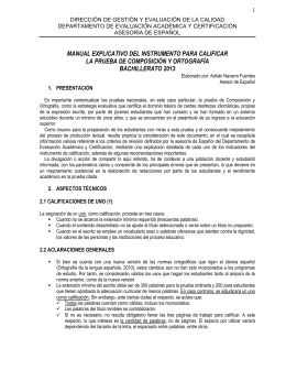 manual explicativo del instrumento para calificar la