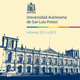 Folleto Institucional - Universidad Autónoma de San Luis Potosí
