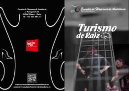 folleto turismo de raiz 1 - Escuela de Flamenco de Andalucía