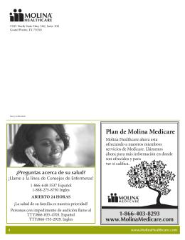 Salud y Familia - Molina Healthcare