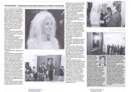 """""""ENTIDADES"""" – Exposición de Smerakda Giannini en el Palacio"""