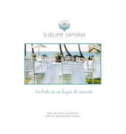 folleto de bodas