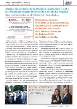 del Programa Semipresencial de Castilla-La Mancha