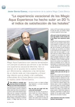 """La experiencia vacacional de los Magic Aqua"