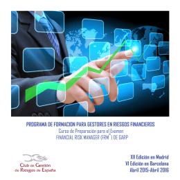 Descarga el PDF Informativo - Club de Gestión de Riesgos de España