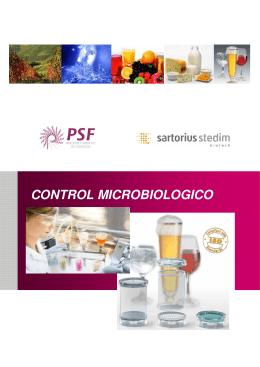 CONTROL MICROBIOLOGICO