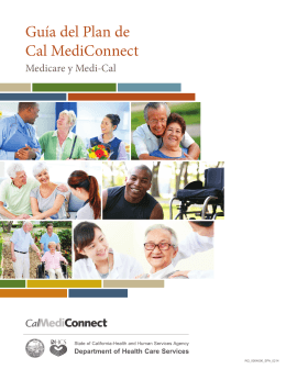 Guía del Plan de Cal MediConnect