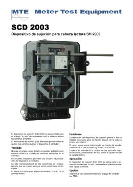SCD 2003 spanish