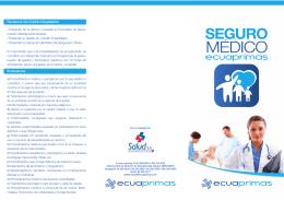 Folleto Informativo Póliza de Salud
