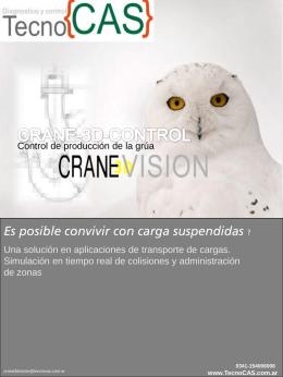Tecno - Crane 3D Vision