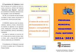 folleto vacaciones 2014-2015pub.pub - Mayores