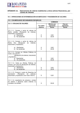 EPÍGRAFE 15 - Banca Pueyo