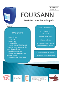 FOURSANN FOLLETO