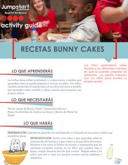 RECETAS BUNNY CAKES