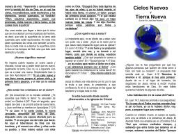 Cielos Nuevos Tierra Nueva - Iglesia de Cristo Silver Spring