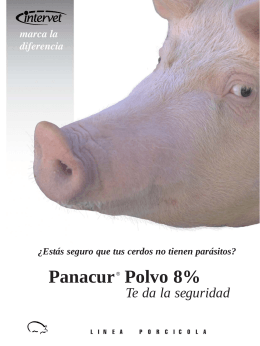Folleto Panacur® Polvo al 8%