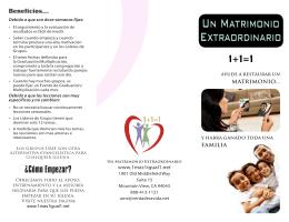 Promo PDF - Un Matrimonio Extraordinario