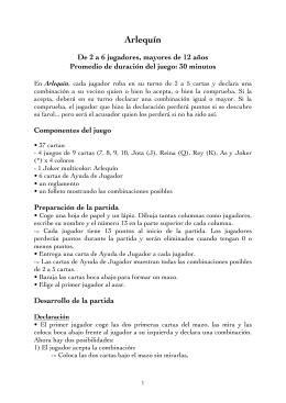 Arlequín - Editions de la Haute Roche