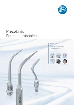 PiezoLine. Puntas ultrasónicas.