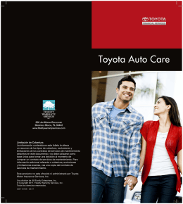 Toyota Auto Care - Toyota Financial Services