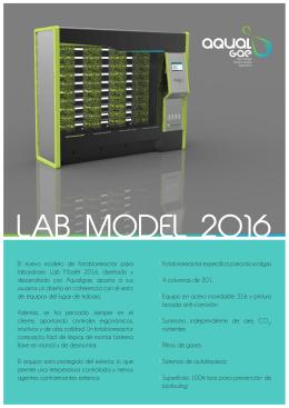 Folleto Lab Model 2016