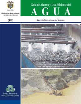 Guia de Ahorro y Uso Eficiente del Agua