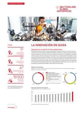 Innovaciones - Switzerland Global Enterprise