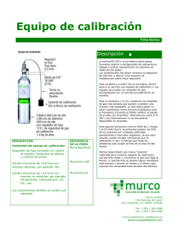 Descargar Folleto PDF del Kit de Calibración