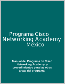 Cisco Networking Academy México