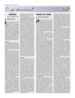MIRADAS MUNDO DE PAPEL