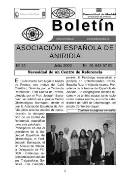 testimonio - Asociación Española de Aniridia
